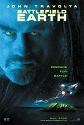 Battlefield Earth movie poster [John Travolta] original 27x40 VG