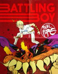 Battling Boy poster (17x22) Paul Pope graphic novel