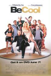 Be Cool movie poster [John Travolta, Uma Thurman] 27x40 video version