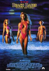 Beach Babes From Beyond movie poster (1993) 27x40 video poster