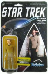 Star Trek: Beaming Capt. Kirk ReAction figure (Funko/2015)