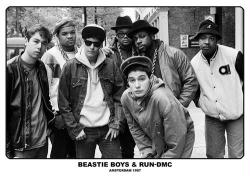 "Beastie Boys & Run-DMC poster: Amsterdam, May 22, 1987 (33"" X 23 1/2"")"