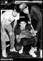 "Beastie Boys poster: Glasgow Barrowlands, May 1987 (23 1/2"" X 33"")"