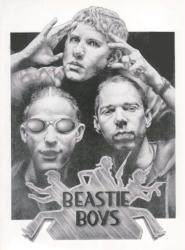 Beastie Boys poster/print (17 1/2'' X 22 1/2'') Mike Duran art