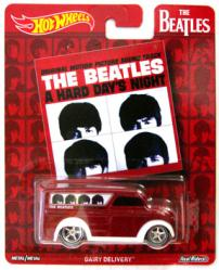 Hot Wheels: The Beatles A Hard Day's Night Dairy Delivery die-cast