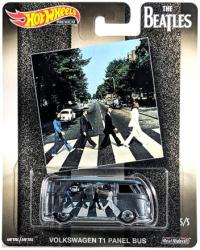 Hot Wheels: The Beatles Abbey Road Volkswagen T1 Panel Bus die-cast