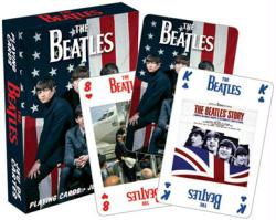 The Beatles playing cards: First Visit to America (Aquarius) Brand New