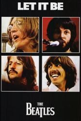 The Beatles poster: Let It Be (24x36) album artwork