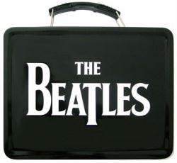 The Beatles: Beatles Logo collectible Lunch Box Tin Tote