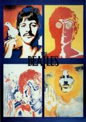 Beatles poster: The Beatles by Richard Avedon (24'' X 36'')