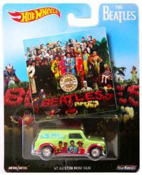Hot Wheels: The Beatles Sgt. Pepper's '67 Austin Mini Van die-cast