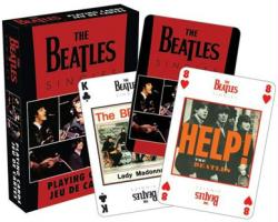 The Beatles playing cards: Singles (Aquarius/2012) Brand New