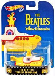 Hot Wheels Retro Entertainment: The Beatles Yellow Submarine die-cast