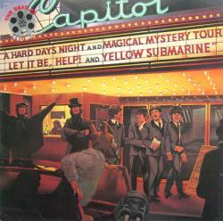 The Beatles poster: Reel Music vintage LP/Album flat