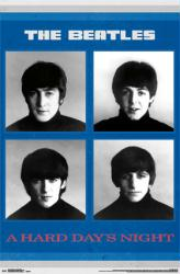 Beatles poster: A Hard Day's Night (22x34)