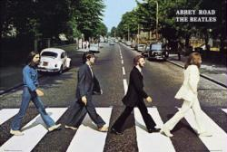 Beatles poster: Abbey Road (36'' X 24'' Poster) New