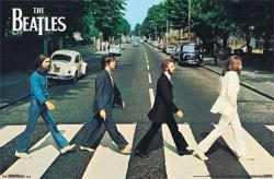 The Beatles poster: Abbey Road (34 X 22) New