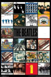 The Beatles poster: Album Covers Discography (22x34)