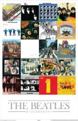 Beatles poster: Album Covers Discography (24x36)