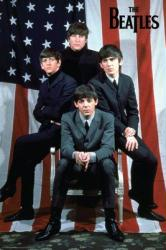 Beatles poster: American Flag (24'' X 36'') New