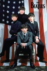 The Beatles poster: American Flag (22x34)