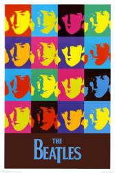 Beatles poster: The Fab Four Squared in Color (24'' X 36'')