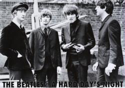 Beatles poster: The Beatles in A Hard Day's Night (36'' X 24'') New