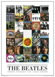 Beatles poster: Through the Years/Discography (24'' X 36'') New