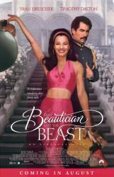 Beautician and the Beast movie poster [Fran Drescher & Timothy Dalton]