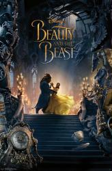 Beauty and the Beast movie poster: Belle & Beast Dancing (22x34) 2017
