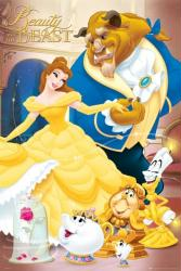 Beauty and the Beast movie poster [Walt Disney] 24'' X 36''