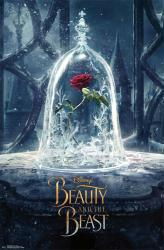 Beauty and the Beast movie poster: Teaser design (22x34) 2017