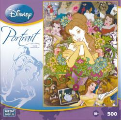 Disney Portrait Series jigsaw puzzle: Beauty and the Beast (500 pc)