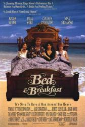 Bed & Breakfast movie poster /Roger Moore/Colleen Dewhurst/Talia Shire