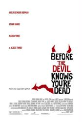 Before the Devil Knows You're Dead movie poster [white style] 27x40