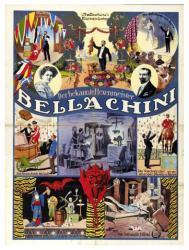 Bellachini magician poster (18x24) Der bekannte Hexenmeister