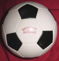 Bend It Like Beckham (Promotional Regulation-Size Soccer Ball) Nr. Mint