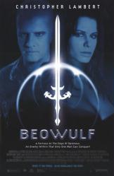 Beowulf movie poster [Christopher Lambert] 26x40 video version