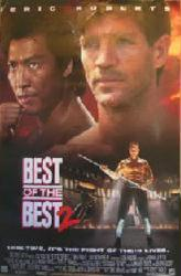 Best of the Best 2 movie poster [Eric Roberts, Phillip Rhee] 25.5x38