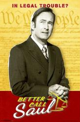 Better Caul Saul poster [Bob Odenkirk] TV series (22x34) Billboard