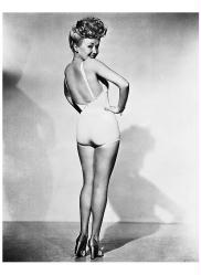 Betty Grable poster print (12x18) WWII Pin Up