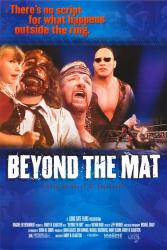 Beyond the Mat movie poster (wrestling documentary) 27x40