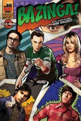 The Big Bang Theory poster: Bazinga! Comic Book cover (24'' X 36'')