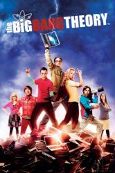 The Big Bang Theory poster: Season 5 Cast (24'' X 36'') New