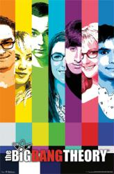 The Big Bang Theory poster: Color Bar Test Signal (22x34)