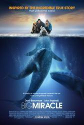 Big Miracle movie poster [Drew Barrymore & John Krasinski] 2012