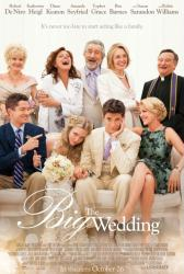 The Big Wedding movie poster [Robert DeNiro, Katherine Heigl] 27 X 40