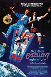 Bill & Ted's Excellent Adventure movie poster [Keanu Reeves] 24x36