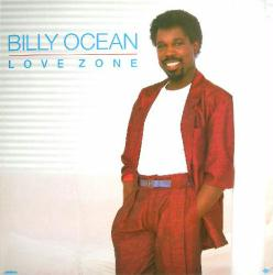 Billy Ocean poster: Love Zone vintage LP/Album flat