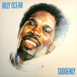 Billy Ocean poster: Suddenly vintage LP/Album flat